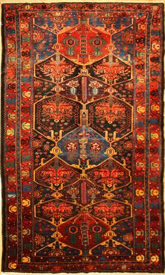Antique Bahktiari Carpet