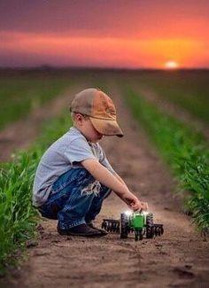 Future John Deere Farmer