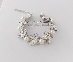 Hey, I found this really awesome Etsy listing at https://www.etsy.com/listing/237069984/wedding-bracelet-bridal-bracelet