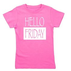 Hello Friday Girl's Tee