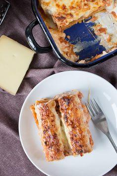 Kombi-Rezept mit und ohne Fleisch: Vegetarische Cannelloni mit Linsen und für Fleischesser mit Faschiertem