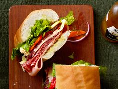 Italian Party Sub Recipe : Food Network Kitchens : Food Network - FoodNetwork.com