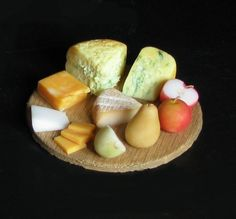Cheeses and Fruit by *fairchildart on deviantART