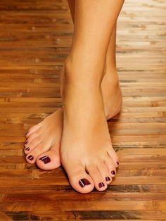Female feet at spa salon on pedicure procedure Pretty Toe Nails, Pretty Toes, Cute Toe Nails, Sexy Legs And Heels, Hot Heels, Feet Soles, Women's Feet, Nice Toes, Foot Pics