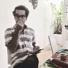 Portrait d'Artiste Roberto Stephenson ©️ Marisa Tabti, Las Galeras 2021. Haitio- Italian Photographer Roberto Stephenson Portraits, Artist, Head Shots, Artists, Portrait Photography, Portrait Paintings, Headshot Photography, Portrait