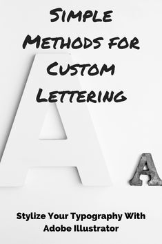You don't need to know how to hand letter and draw to create custom typography. In this class, you'll learn three methods for creating custom typography & how to differentiate between high and low-quality letterforms. Learn the efficient workflow, so your projects aren't bogged down during the lettering process. Both beginners and professionals will learn new ways of working in Adobe Illustrator to produce rockstar-quality custom type. Art & Design | Drawing & Illustration | Lettering…