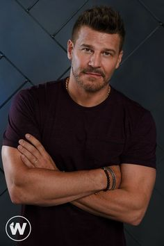 """""""SEAL Team"""" star David Boreanaz stops by TheWrap for a photo session and on-screen interview about directing an episode of CBS drama. Seeley Booth, Booth And Bones, Hot Dads, Emily Deschanel, Star David, David Boreanaz, Sarah Michelle Gellar, Matthew Mcconaughey, Buffy The Vampire Slayer"""