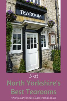 Visiting a Yorkshire Tea Room is one of life's pleasures.  What better treat! I've visited many over the years so to pick just 5 Yorkshire Tea Rooms isn't an easy task yet the research was fun!   Crucially, all these tea rooms offer delicious home made Yorkshire food and a friendly Yorkshire welcome. Here are my  5 choices: http://luxuryspringcottageyorkshire.co.uk/5-best-yorkshire-tea-rooms/