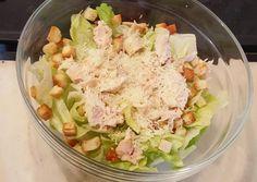 κύρια φωτογραφία συνταγής Σαλάτα του Καίσαρα (Ceasar's salad) Cookbook Recipes, Cooking Recipes, Ceasar Salad, Greek Recipes, Potato Salad, Cabbage, Salads, Food And Drink, Yummy Food