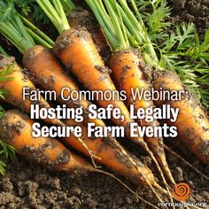 If you missed the farm commons webinars they are recorded and available for viewing at farmcommons.org/webinars. Learn more here: http://www.cornucopia.org/2015/01/farm-commons-webinar-hosting-safe-legally-secure-farm-events #farm #webinars #CSA #farmer