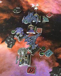 Star Trek Attack Wing Dominion Federation Fleet ©  Matthias Bär