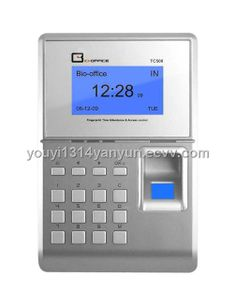 Time Attendance and Fingerprint Access Control (TC500/TC550) (TC500/TC550) - China fingerprint access control, Bio-office