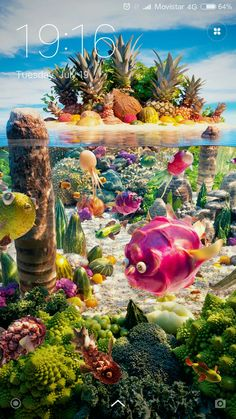 Incredible Food Landscapes by Carl Warner Carl Warner, Creative Photography, Art Photography, Veggie Art, Miniature Photography, 3d Printing Service, Freelance Graphic Design, Art Themes, Creative Advertising