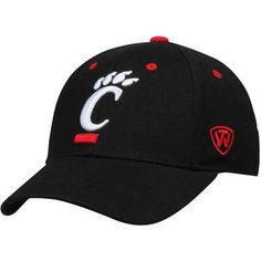 07504cdbe0c ... promo code for cincinnati bearcats top of the world dynasty memory fit  fitted hat black 15096
