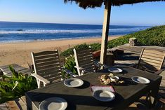 A mere 40 minute drive from the Kosi Bay border, along a sandy 4x4 route you will find Aloha Estate. If your idea of a holiday is a luxury home on a remote beach, then this is the house.  Click on pic to see more. Aloha Beaches, Beach Villa, Outdoor Furniture, Outdoor Decor, Sun Lounger, Luxury Homes, 4x4, Remote, Cottage