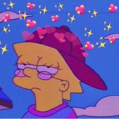 Lisa Simpson is a mood Cartoon Wallpaper, Simpson Wallpaper Iphone, Sad Wallpaper, Aesthetic Iphone Wallpaper, Aesthetic Wallpapers, Aesthetic Gif, Aesthetic Green, Aesthetic Painting, Cartoon Edits