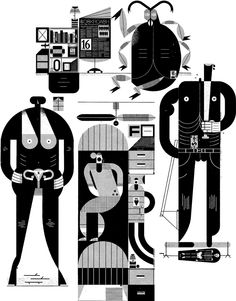 Raymond Biesinger Illustration Inc. - His new Portfolio is up