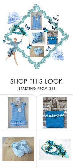 """""""Blue tenderness."""" by lwitsa62 ❤ liked on Polyvore featuring Cadeau"""