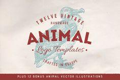 The Ultimate Animal Logo Badges & Bonus Vectors Pack