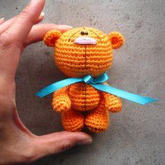 Набор из 3 шаблона: Медведь Panda Zebra Amigurumi по crochetorium