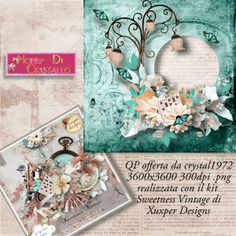 Qp Sweetness Vintage by Xuxper designs offered by Cristal1972