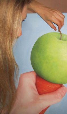 Raw icecream, oil on canvas