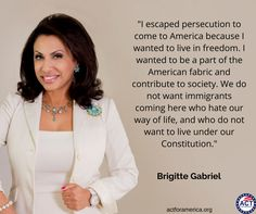 I know what it is like to live without freedom, and to live each day not knowing if I would live or die. I am eternally grateful for the country that took me in and gave me a life I never dreamed possible. America saved my life. ~ Brigitte Gabriel ~ RADICAL Rational Americans Defending Individual Choice And Liberty