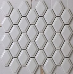 Lyric Lounge Collection Elongated Hex Tile Convex In