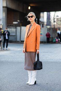 Street style fashion / fashion week #fashionweek #fashion #womensfashion #streetstyle #ootd #style / Photo: Sandra Semburg