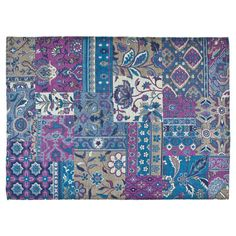 Patchwork Cotton Rug - Rugs - Decoration | Zara Home