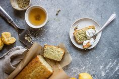 Chamomile Lemon Poppy Seed Loaf | Two Red Bowls