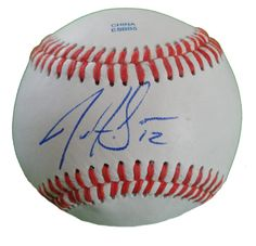 Chicago White Sox Justin Sellers signed Rawlings ROLB leather baseball w/ proof photo.  Proof photo of Justin signing will be included with your purchase along with a COA issued from Southwestconnection-Memorabilia, guaranteeing the item to pass authentication services from PSA/DNA or JSA. Free USPS shipping. www.AutographedwithProof.com is your one stop for autographed collectibles from Chicago sports teams. Check back with us often, as we are always obtaining new items.