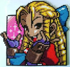 PixelBead: Street Fighter Brat by DrFrancisGross