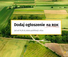 Na OnGeo dodaj ogłoszenie na ROK (Już od 14,76 zł w skali ulicy) #OnGeo #nieruchomosci