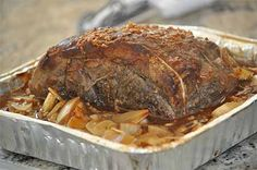 Have you ever wanted to barbeque a moose roast and still have it be tender? We have, and recently cooked a moose round roast on the barbeque that was so tender Moose Recipes, Wild Game Recipes, Bbq Roast, Oven Roast, Grilling Recipes, Meat Recipes, Cooking Recipes, Outside Round Roast, Moose Meat