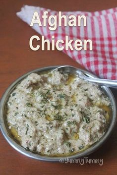 Afghan Chicken Recipe - How to Make Afghani Chicken at Home veg recipes Indian Chicken Recipes, Indian Food Recipes, Chicken Recepies, Chicken Afghani Recipe, Chicken Curry Recipes, Prawn Recipes, Arabic Recipes, Savoury Recipes, Recipe Chicken