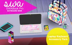 SWA KEYBOARD SKIN FOR THE SWABook Pro The FIRST of... | Simming With Abbi