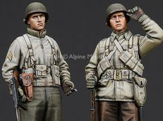 Newly Arrived 1/35 scale US Infantry from Alpine Miniatures
