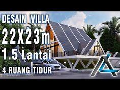 DESAIN VILLA 22 X 23 meter I Bogor – DESAIN VILLA MEZZANINE + RUANG BACA - YouTube Bogor, Villa, Youtube, Fork, Villas, Youtubers, Youtube Movies