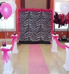 Cute Diva Zebra Print Party Supplies Party Girls BirthdayExpress