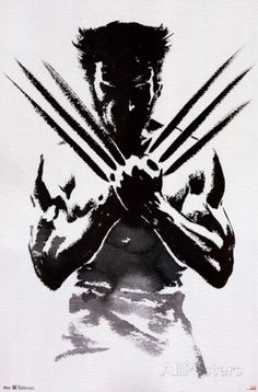 Wolverine One Sheet Movie Poster Pôsters na AllPosters.com.br