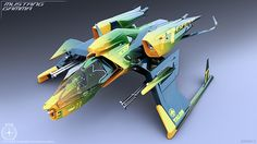 Mustang Variants Concept Art (Star Citizen) on Digital Art Served