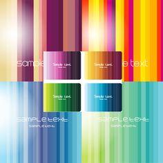 Rainbow line background vector download | Vector concept