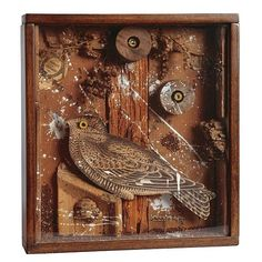 Joseph Cornell , 1903-1972 Bird in a Box wood, cork, branches, paint ...