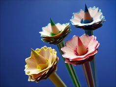 Flower pencils?  Sorry - I just <3 this. :)