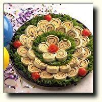 Turkey & Cheese Mini Wraps by Cooks Recipes