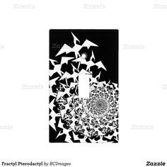 Fractyl Pterodactyl Light Switch Plates