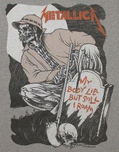 Pushead - Metallica - Gravedigger