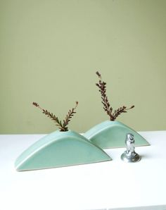 Vintage Tiny Pottery Vases