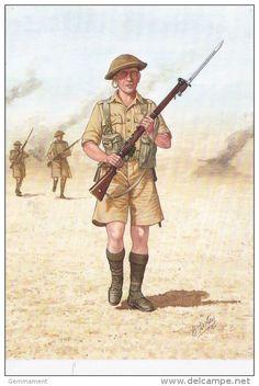 Guardsman Scots Guards North Africa 1942